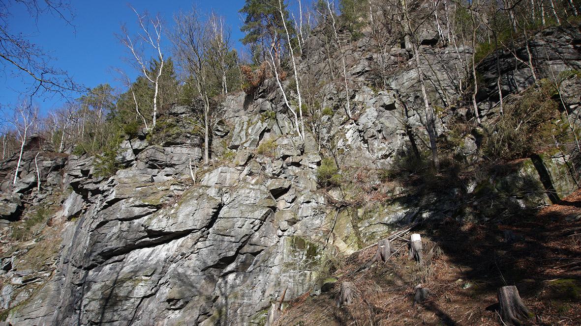 Die Wolkensteiner Schweiz im Erzgebirge. Foto: Chris Bergau/bergau-media.com