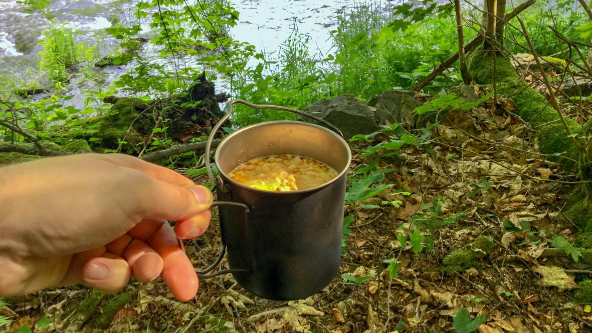 Eine stärkende Suppe zwischendurch. Foto: Chris Bergau
