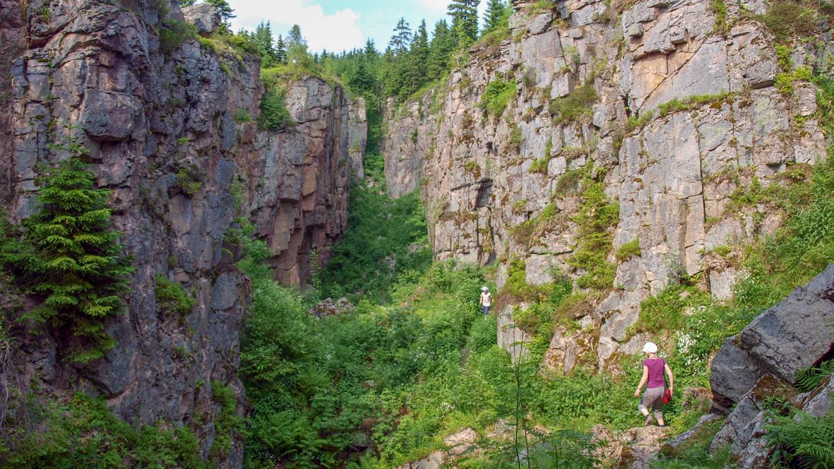 Die Wolfspinge (Vlčí Jáma). Foto: Chris Bergau
