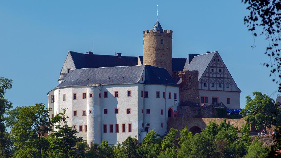 Die Burg in Scharfenstein. Foto: Chris Bergau/bergau-media.com