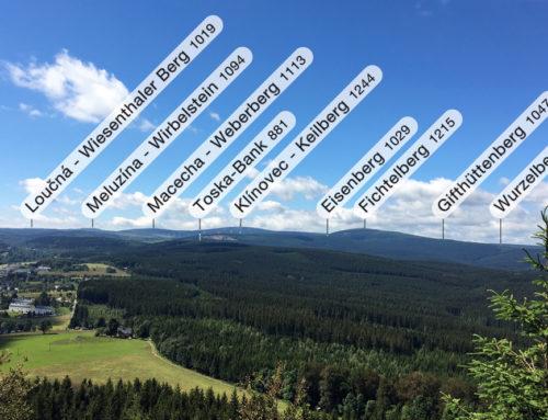 Blick vom Bärenstein Richtung Süden